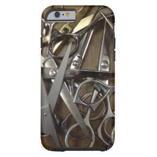Caso del iPhone 6 de las TIJERAS Funda De iPhone 6 Tough
