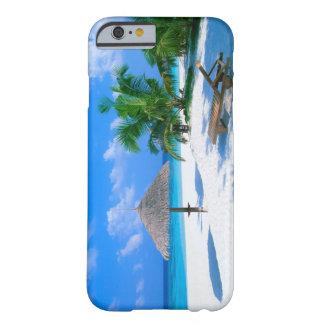 Caso del iPhone 6 de las vacaciones de la playa Funda De iPhone 6 Barely There