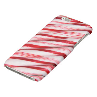 Caso del iPhone 6 de los bastones de caramelo
