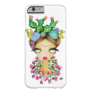 Caso del iPhone 6 de los cactus de Frida Funda Para iPhone 6 Barely There
