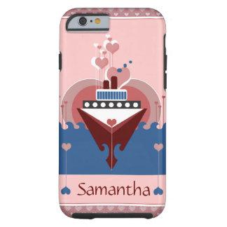 Caso del iPhone 6 de los corazones del amor del Funda De iPhone 6 Shell