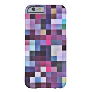 Caso del iPhone 6 de los cuadrados del pixel -