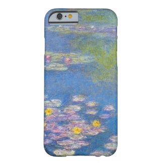 Caso del iPhone 6 de los lirios de agua amarilla Funda De iPhone 6 Barely There