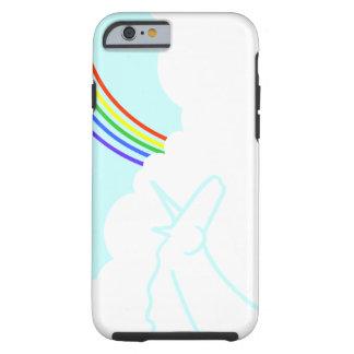 Caso del iPhone 6 de los unicornios y de los arco Funda De iPhone 6 Tough