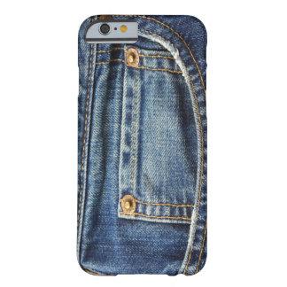 Caso del iPhone 6 de los vaqueros Funda Para iPhone 6 Barely There