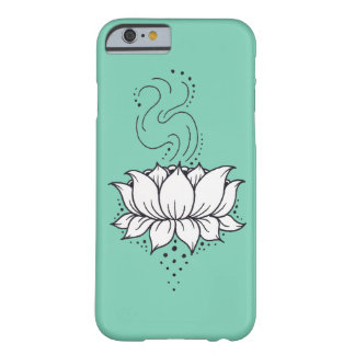 Caso del iPhone 6 de Lotus de la alheña Funda Barely There iPhone 6