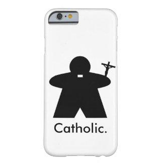 Caso del iPhone 6 de Meeple del sacerdote católico Funda De iPhone 6 Barely There