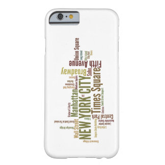 Caso del iPhone 6 de Nueva York Funda Para iPhone 6 Barely There