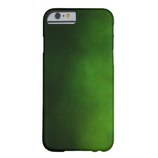 Caso del iPhone 6 de Ombre del verde esmeralda Funda De iPhone 6 Barely There