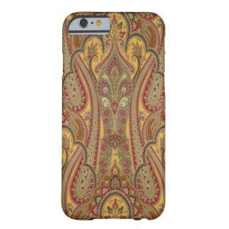 Caso del iPhone 6 de Paisley del indio Funda De iPhone 6 Barely There