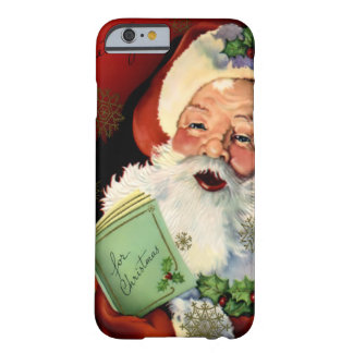 Caso del iPhone 6 de Papá Noel Barely There Funda De iPhone 6 Barely There