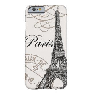 Caso del iPhone 6 de París del vintage… Funda De iPhone 6 Barely There