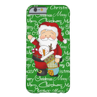 Caso del iPhone 6 de Santa del navidad apenas allí Funda Barely There iPhone 6