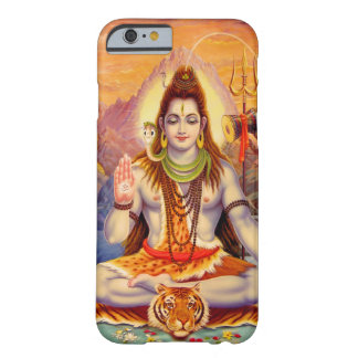 Caso del iPhone 6 de señor Shiva Meditating Funda De iPhone 6 Barely There