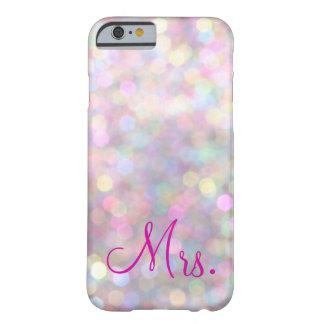Caso del iPhone 6 de señora Sparkly Funda Para iPhone 6 Barely There