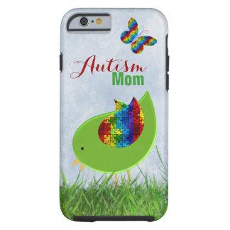 Caso del iPhone 6 de Shell de la mamá del autismo Funda Resistente iPhone 6