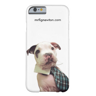 Caso del iPhone 6 de Sr. Fig Newton Funda De iPhone 6 Barely There