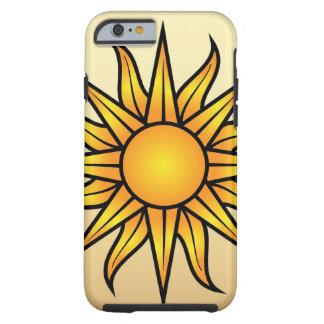 Caso del iPhone 6 de Sun Funda De iPhone 6 Tough