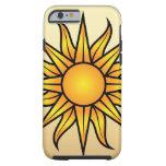 Caso del iPhone 6 de Sun Funda Para iPhone 6 Tough