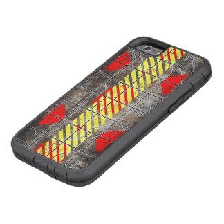 Caso del iPhone 6 de Toulouse de la toba volcánica Funda Tough Xtreme iPhone 6