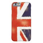 Caso del iPhone 6 de Union Jack del vintage de la