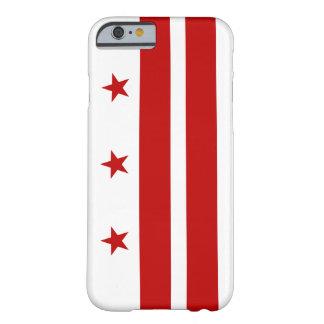 Caso del iPhone 6 de Washington D.C. Flag Funda De iPhone 6 Barely There