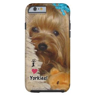 Caso del iPhone 6 de Yorkie Funda Para iPhone 6 Tough