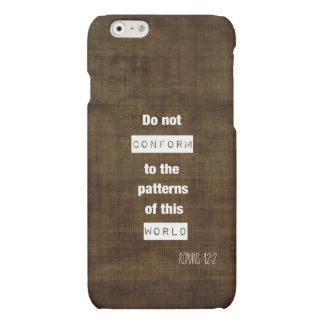 Caso del iPhone 6 del 12:2 de los romanos