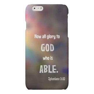 Caso del iPhone 6 del 3:20 de Ephesians