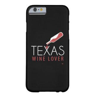 Caso del iPhone 6 del amante del vino de Tejas Funda Para iPhone 6 Barely There