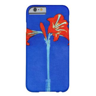 Caso del iPhone 6 del Amaryllis de Mondrian Funda De iPhone 6 Slim