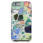 Caso del iPhone 6 del ambiente de los mosaicos de Funda De iPhone 6 Tough