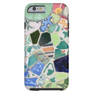 Caso del iPhone 6 del ambiente de los mosaicos de Funda Resistente iPhone 6
