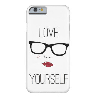 Caso del iPhone 6 del amor usted mismo Funda Para iPhone 6 Barely There