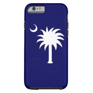 Caso del iPhone 6 del árbol del Palmetto del SC