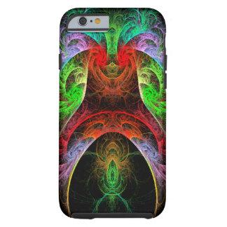 Caso del iPhone 6 del arte abstracto de Carnaval Funda Resistente iPhone 6