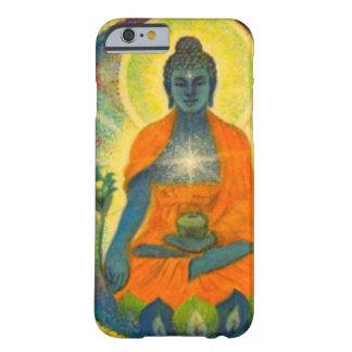 Caso del iPhone 6 del arte de Buda de la medicina Funda De iPhone 6 Barely There