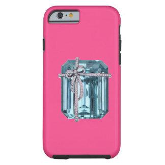 Caso del iPhone 6 del arte del diamante y de la Funda De iPhone 6 Tough