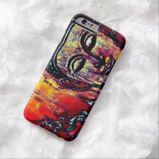 Caso del iPhone 6 del arte gráfico de Buda Funda Barely There iPhone 6
