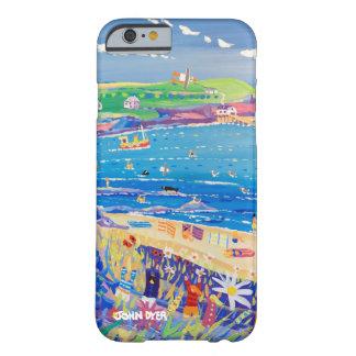 Caso del iPhone 6 del arte: La bahía Cornualles de Funda Barely There iPhone 6