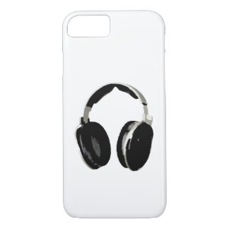 Caso del iPhone 6 del auricular del arte pop Funda iPhone 7