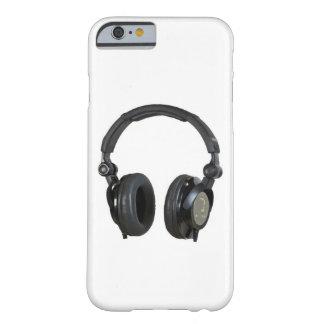 Caso del iPhone 6 del auricular del arte pop Funda Para iPhone 6 Barely There
