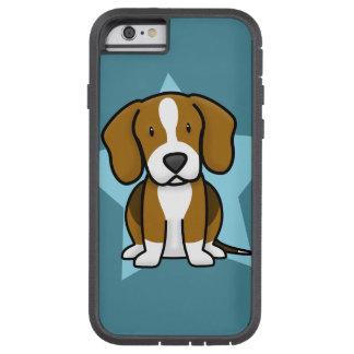 Caso del iPhone 6 del beagle de Kawaii Funda De iPhone 6 Tough Xtreme