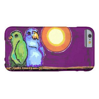 Caso del iPhone 6 del Birds of a Feather Funda Barely There iPhone 6