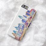 Caso del iPhone 6 del bosquejo del color de Funda Barely There iPhone 6