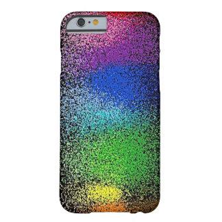 caso del iPhone 6 del brillo del arco iris Funda Para iPhone 6 Barely There