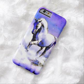 Caso del iPhone 6 del caballo blanco de la Funda De iPhone 6 Barely There