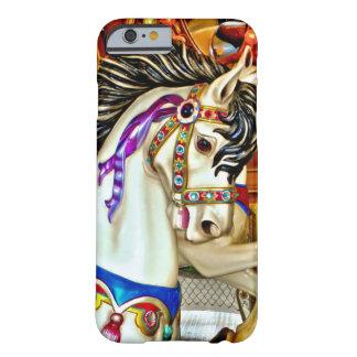 Caso del iPhone 6 del caballo del carrusel Funda De iPhone 6 Barely There