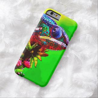 Caso del iPhone 6 del camaleón de la acuarela Funda Barely There iPhone 6