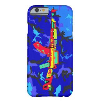 Caso del iPhone 6 del camuflaje de AK-47 Funda De iPhone 6 Barely There